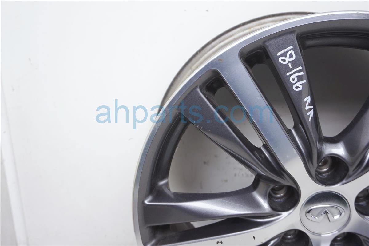 2017 Infiniti Qx60 Rear Passenger Wheel/rim   Black/silver 40300 9NB2A Replacement