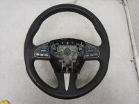 $250 Infiniti STEERING WHEEL - BLACK