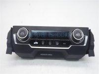 $75 Honda HEATER/AC CONTROL(ON DASH) -
