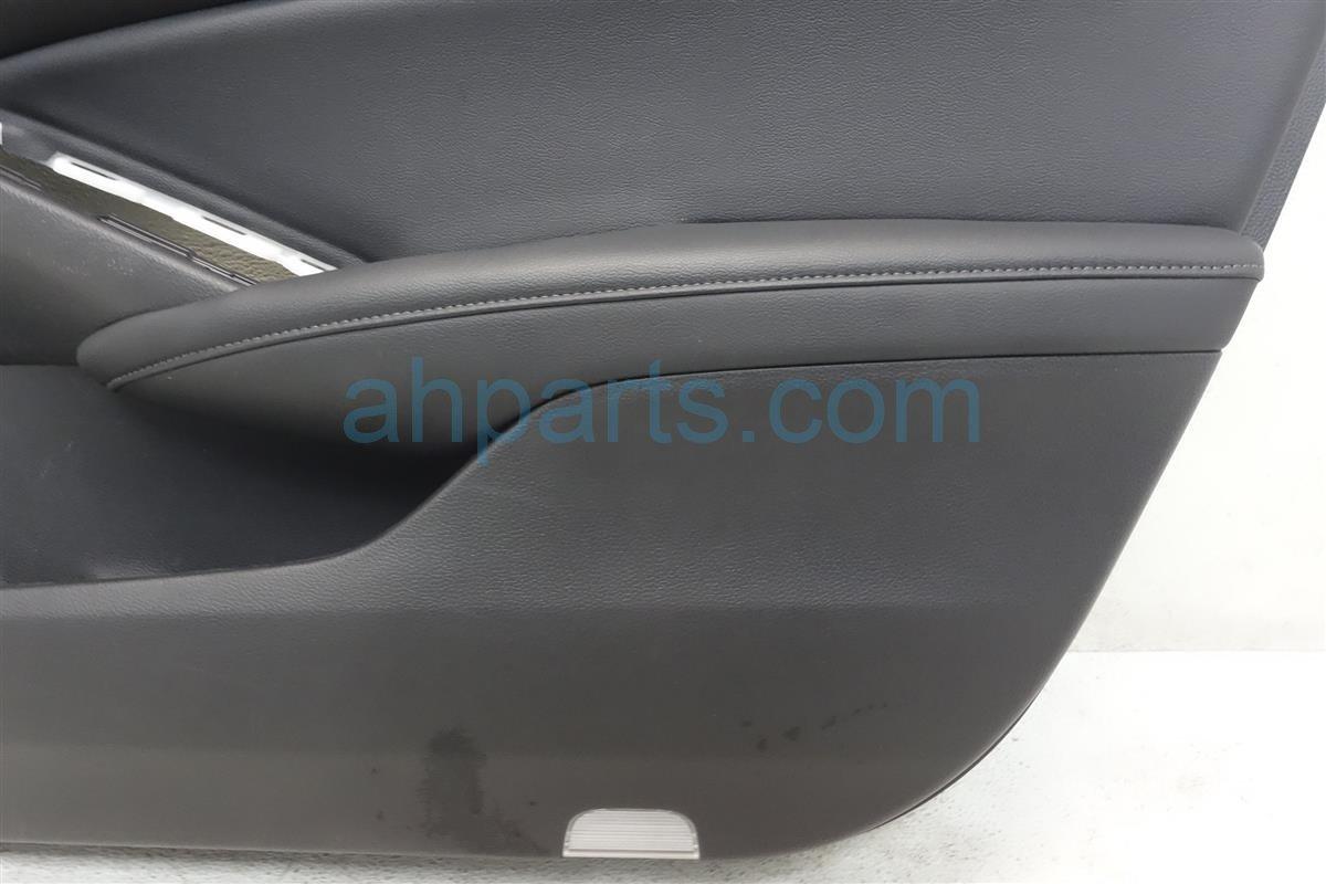 2018 Honda Accord Front Passenger Door Panel (trim Liner) Black 83503 TVA A03ZA Replacement