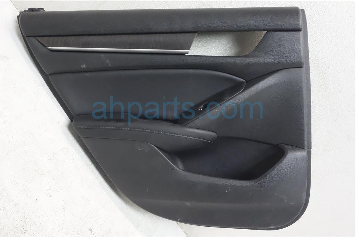 2018 Honda Accord Rear Driver Door Panel (trim Liner) Black 83750 TVA A13ZA Replacement