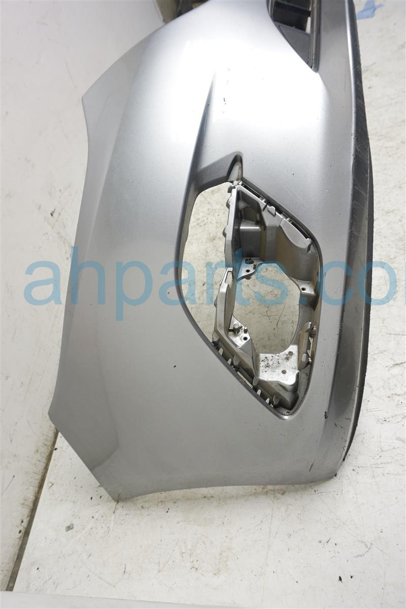 2014 Mazda Mazda 3 Front Bumper Cover Silver Scratches BJS7 50 031A BB Replacement
