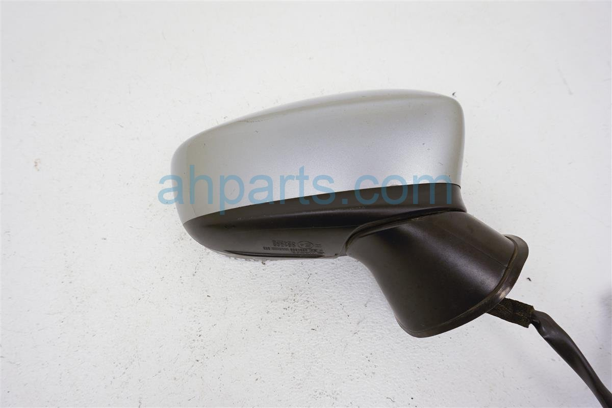 2014 Mazda Mazda 3 Passenger Side Rear View Mirror Silver BJE3 69 121D Replacement