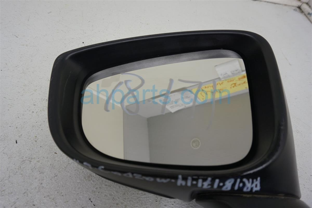 2014 Mazda Mazda 3 Driver Side Rear View Mirror Silver BJD5 69 181F Replacement