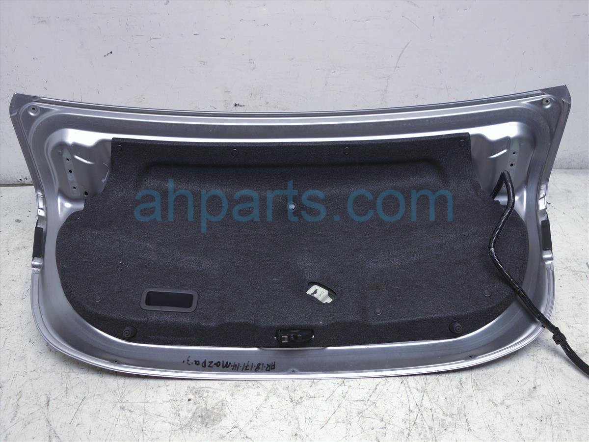 2014 Mazda Mazda 3 Deck Lid/rear Trunk Silver BHY0 52 61XC Replacement