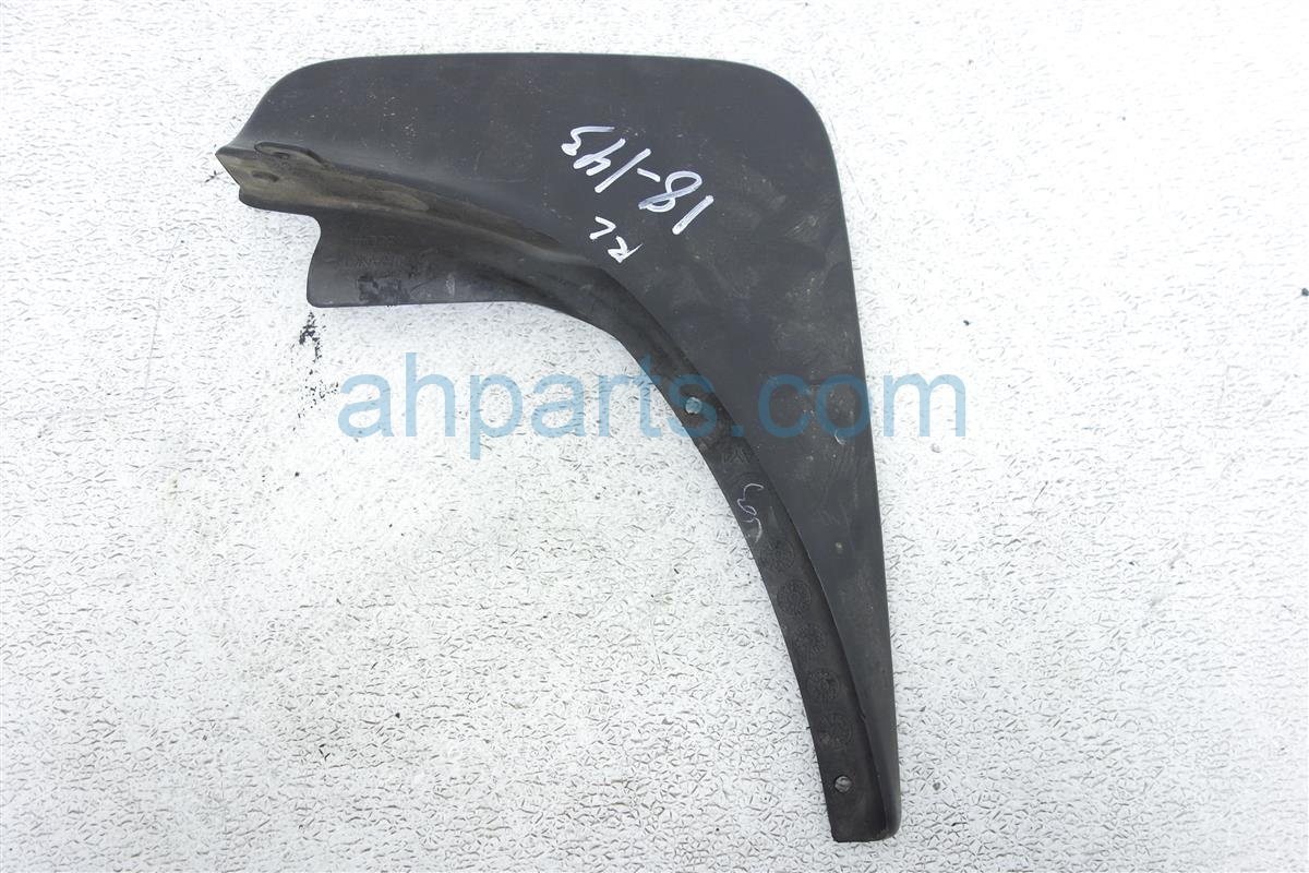 2007 Nissan Murano Splash Rear Driver Mud Guard/flap, Black 999J2 OPAY4 Replacement