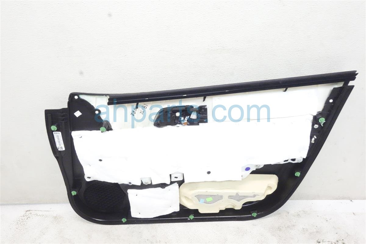 2016 Acura ILX Trim / Liner Front Driver Door Panel No Switch Gray 83551 TV9 A31ZB Replacement