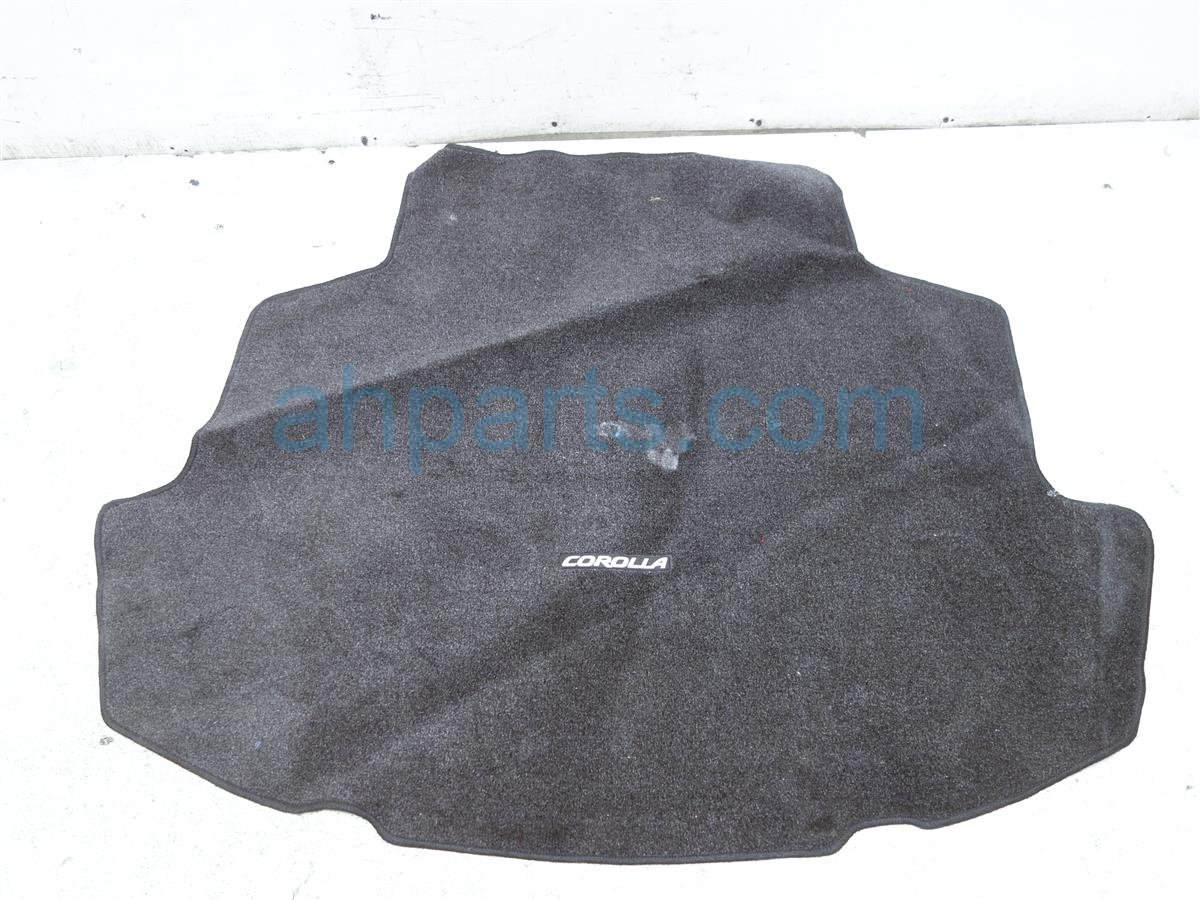 2018 Toyota Corolla Black Trunk Carpeted Floor Mat PT2060204111 Replacement