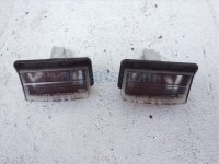 $10 Infiniti LICENSE PLACE LIGHT, PAIR