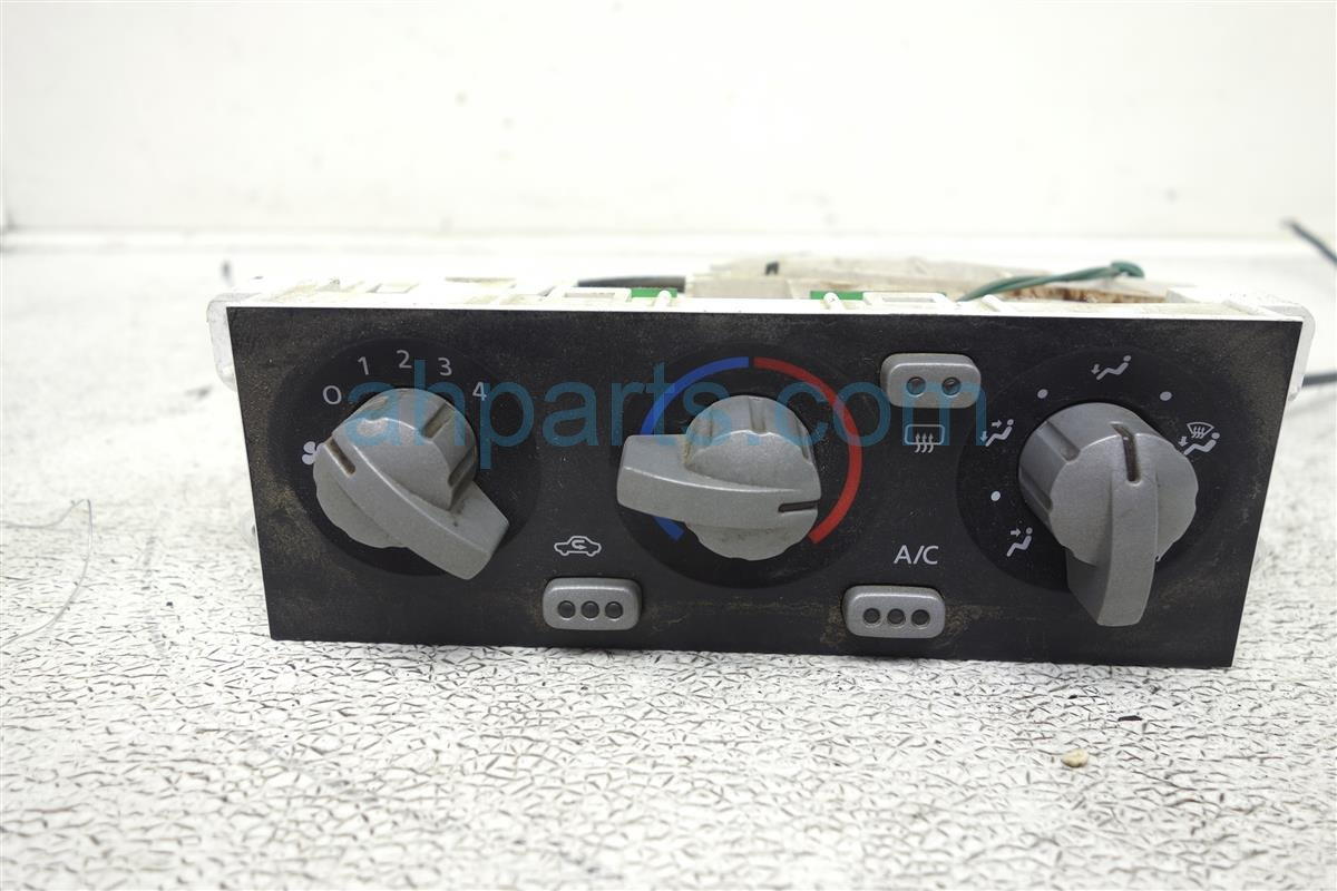 2002 Nissan Frontier Temperature Climate Dash Ac/heater Control Assembly 27510 8Z315 Replacement