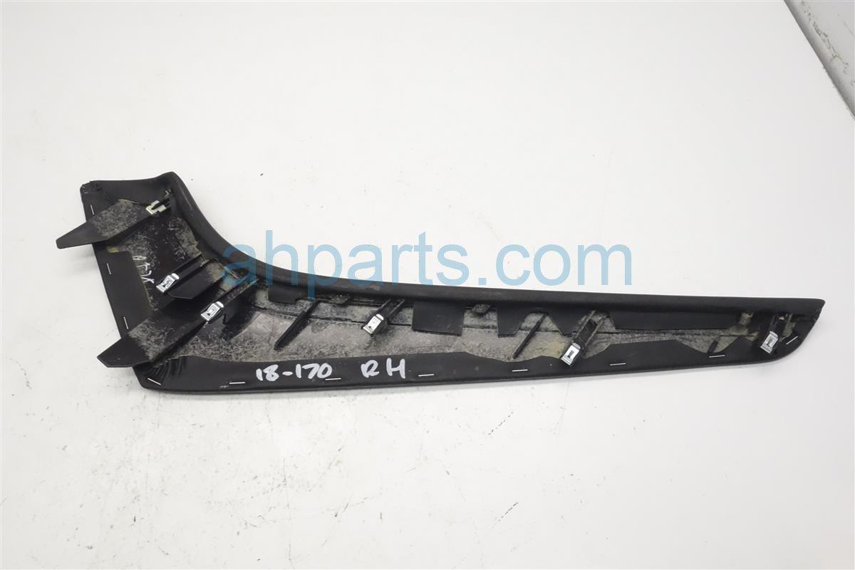 2015 Infiniti Q50 Passenger Center Console Trim Pad   Black 68211 4GF0A Replacement