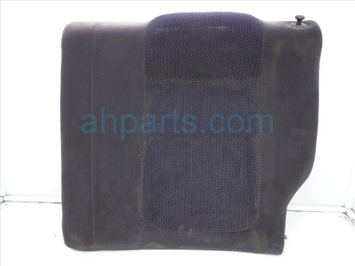 1996 Acura Integra Back (2nd Row) Rear Passenger Rear Top Seat Black Cloth 82121 ST7 A02ZA Replacement