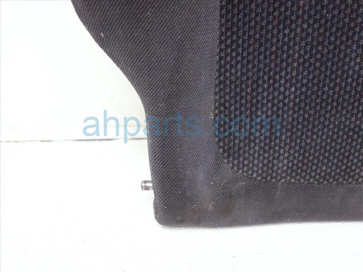 1996 Acura Integra Back (2nd Row) Rear Driver Rear Seat Top Black Cloth 82521 ST7 A02ZA Replacement