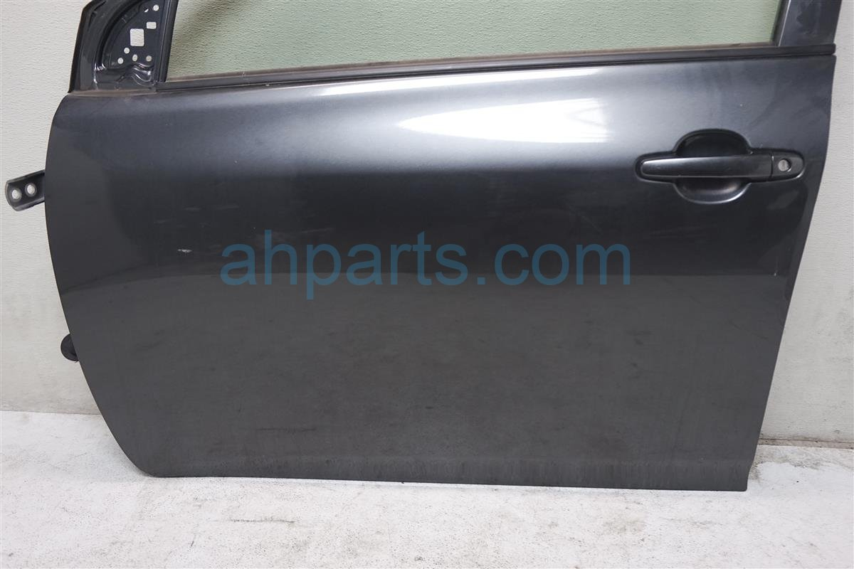 2010 Toyota Corolla Front Driver Door Gray 67004 12A90 Replacement