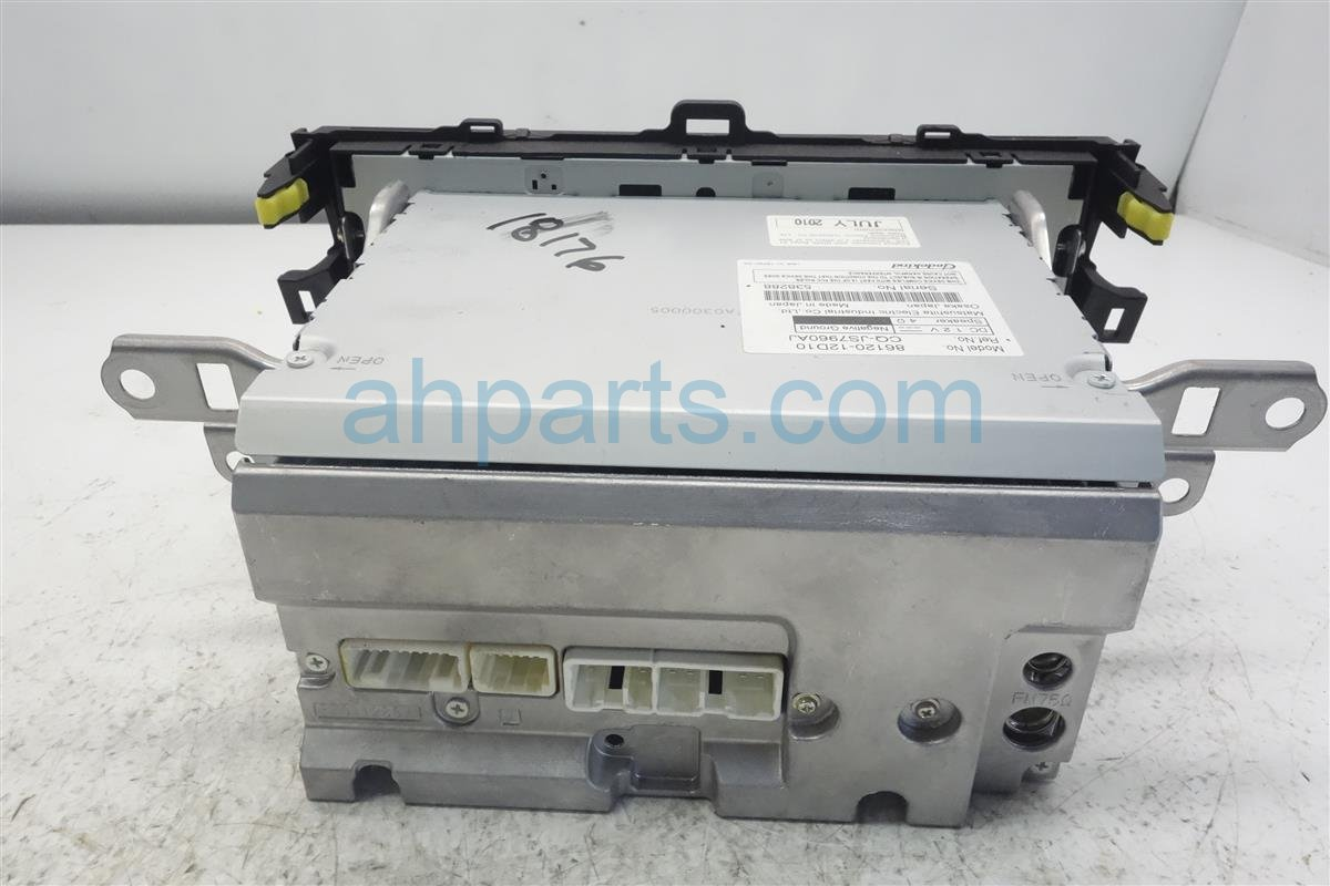 2010 Toyota Corolla Am/fm/cd Radio Player 86120 12D10 Replacement