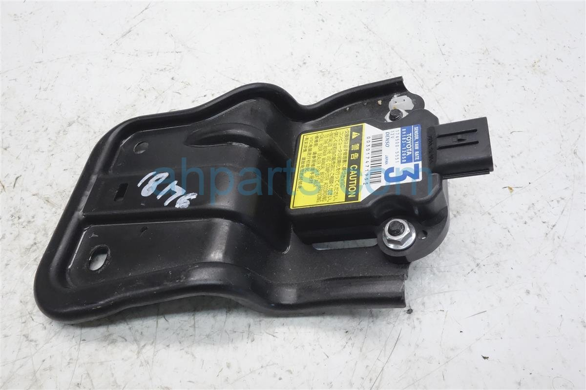 Yaw Rate Sensor >> 2010 Toyota Corolla Yaw Rate Sensor 89183 12050 Replacement