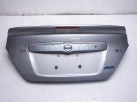 $250 Nissan DECK LID/REAR TRUNK - SILVER