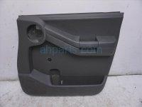 $85 Nissan FR/R DOOR PANEL (TRIM LINER) - BLACK