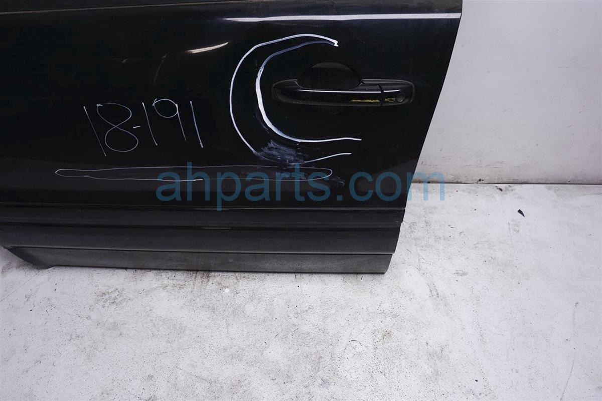 2006 Honda Pilot Front Driver Door   Black No Trim Or Mirror 67050 S9V A90ZZ Replacement
