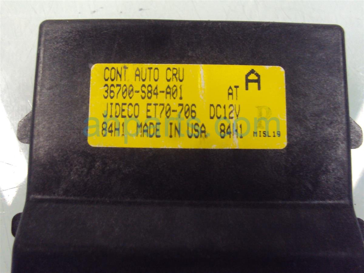 1998 Honda Accord CRUISE CONTROL MODULE COMPUTER 36700 S84 A01 36700S84A01 Replacement