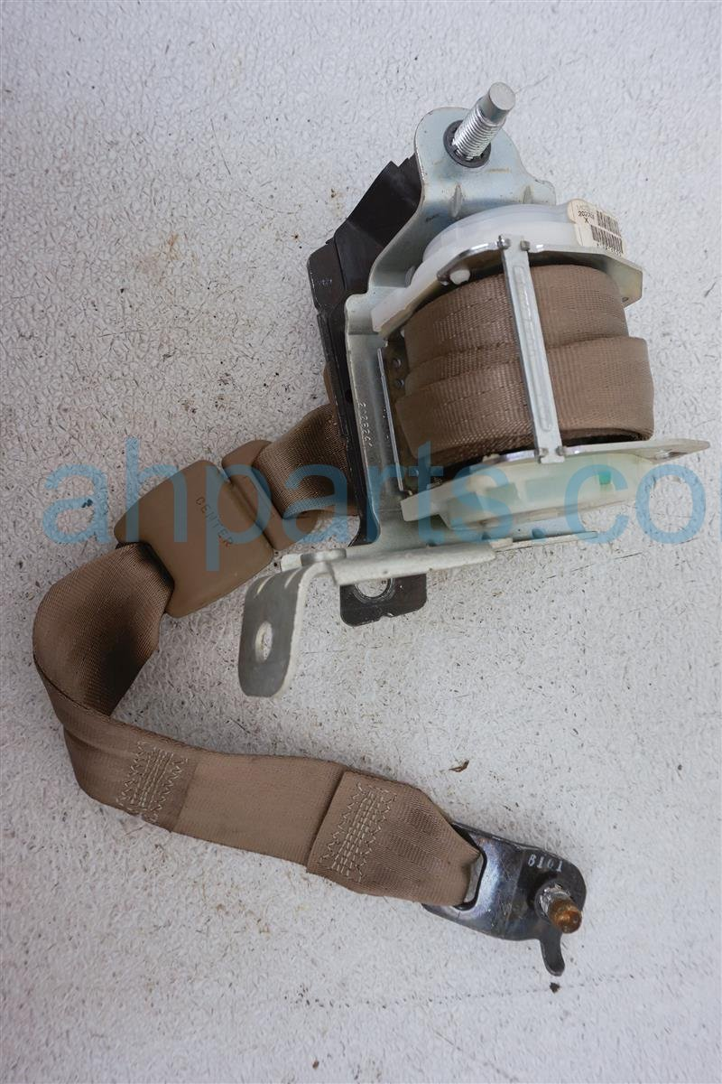 2006 Honda Pilot Rear 2nd Row Driver Seat Belt   Tan 04868 S9V A02ZC Replacement