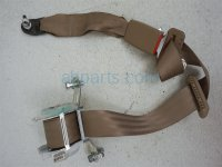 Honda 3RD ROW MID SEAT BELT - TAN