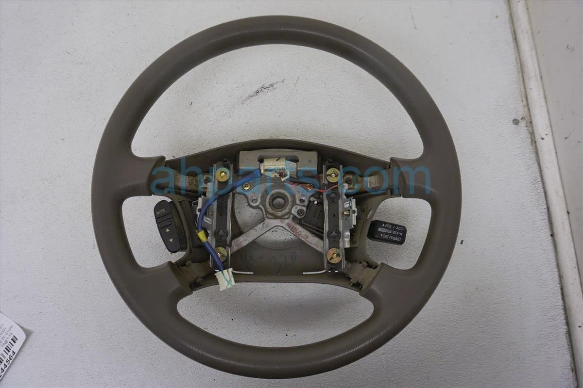 1999 Toyota Sienna Steering Wheel  oak, Faded W/ Cruise 4510008050E0 Replacement