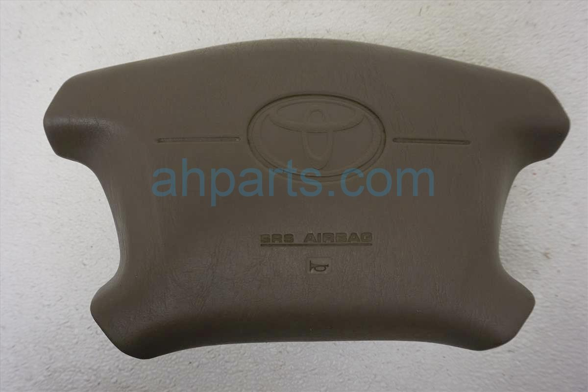 1999 Toyota Sienna Driver Wheel Airbag  taupe 06770 S01 A61ZA Replacement