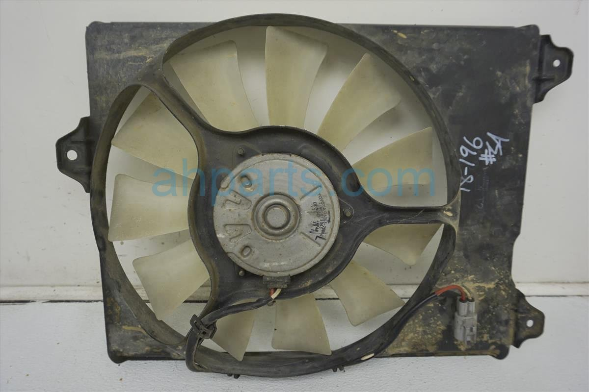 1999 Toyota Sienna Cooling Raidiator Fan Assembly 16361 0A070 Replacement