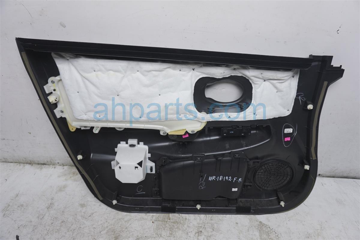 2016 Nissan Versa Front Passenger Door Panel (trim Liner)  black 80900 9KK3A Replacement