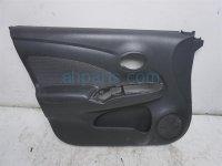 Nissan FR/LH DOOR PANEL TRIM LINER - BLACK