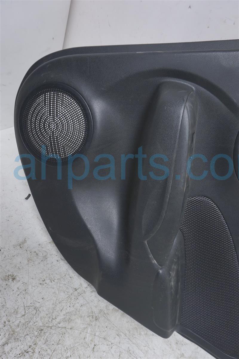 2016 Nissan Versa Rear Passenger Door Panel (trim Liner)  black 82900 9KF3A Replacement