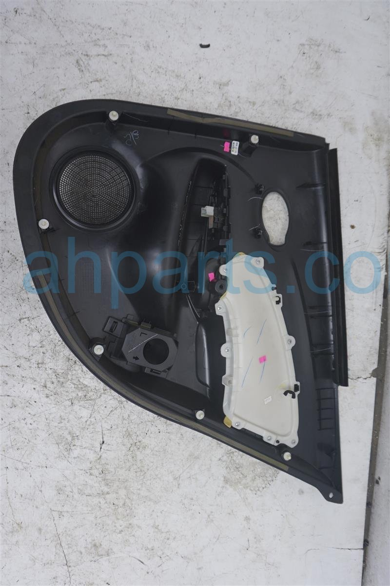 2016 Nissan Versa Rear Driver Door Panel (trim Liner)  black 82901 9KF3A Replacement