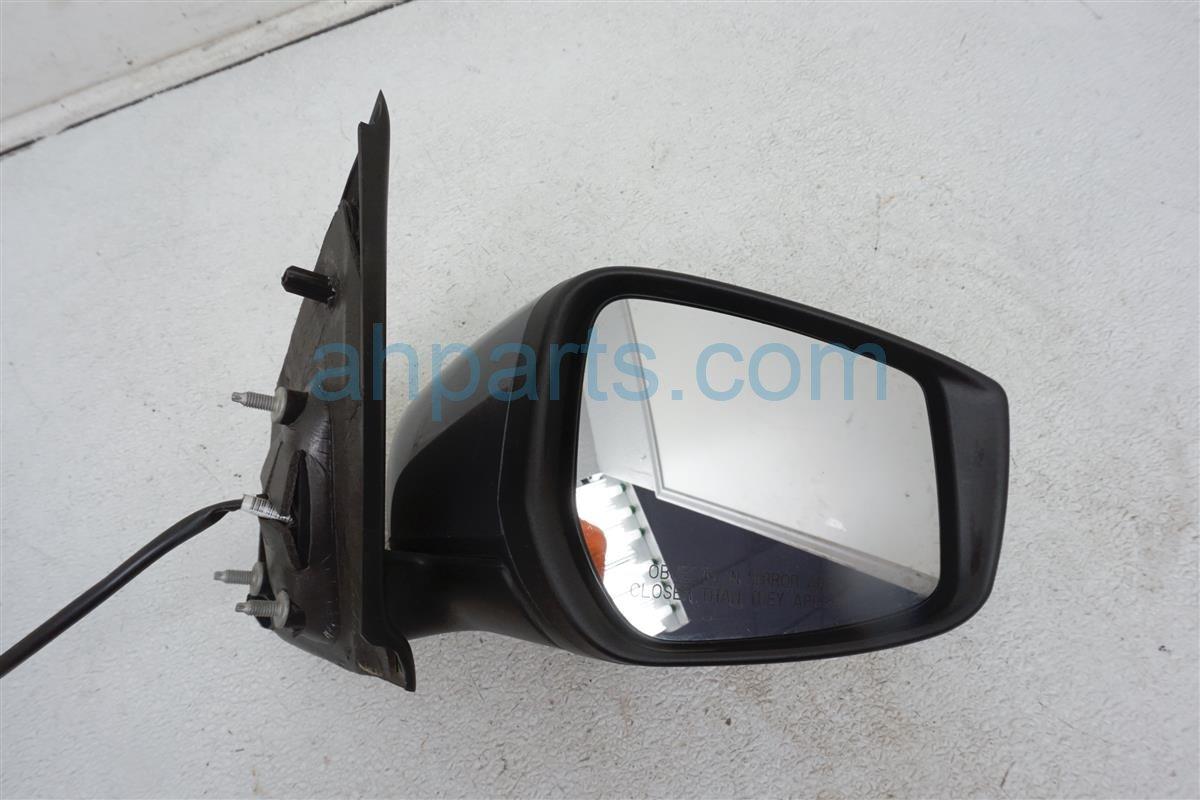 2016 Nissan Versa Passenger Side Rear View Mirror Gray 96301 9KK1A Replacement