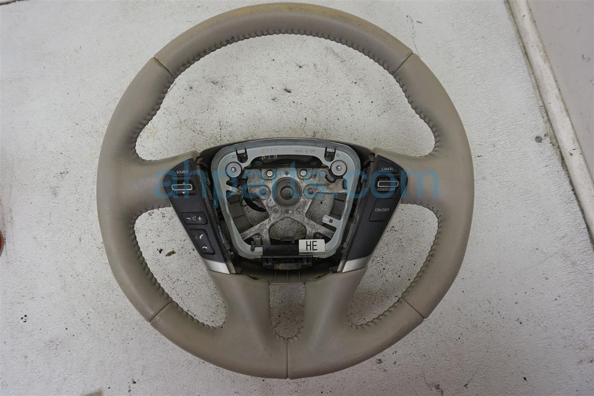2013 Nissan Quest Steering Wheel Gray Worn 48430 1JA1A Replacement