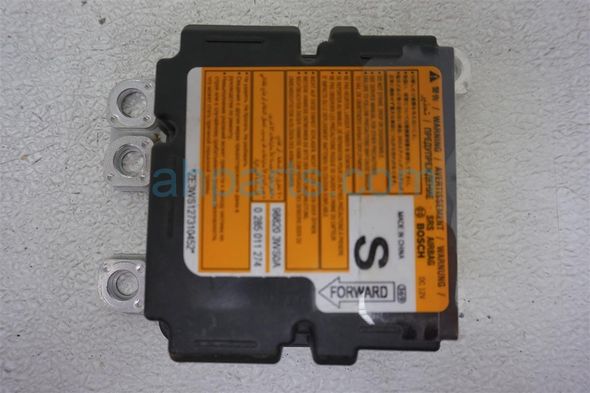 2013 Nissan Quest Srs Airbag Computer Bad Needs Reset 98820 3WS0A Replacement