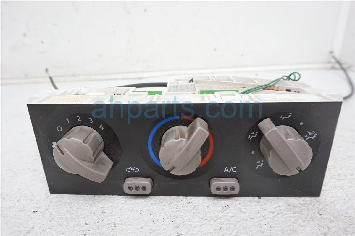 2001 Nissan Frontier Temperature Climate Heater/ac Control(on Dash)   27510 7Z416 Replacement