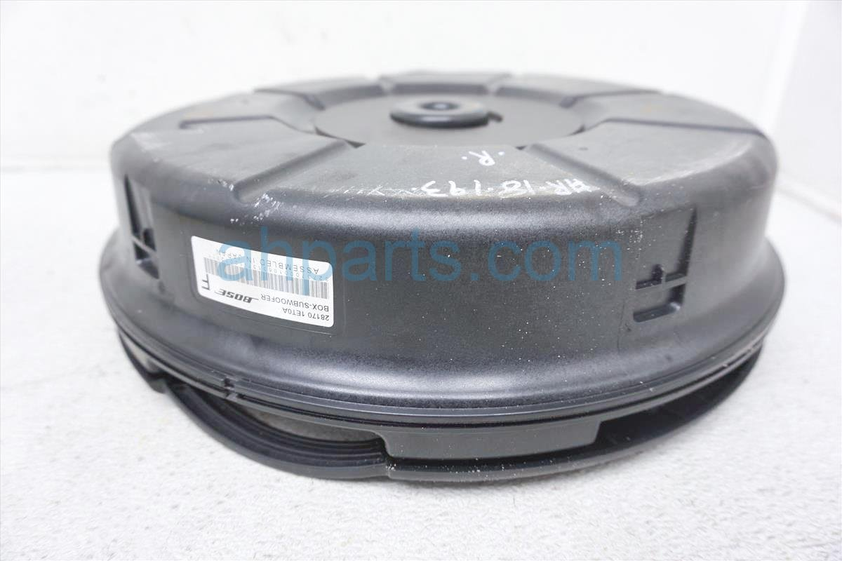 2013 Nissan Quest Speaker Bose Subwoofer Box 28170 1ET0A Replacement
