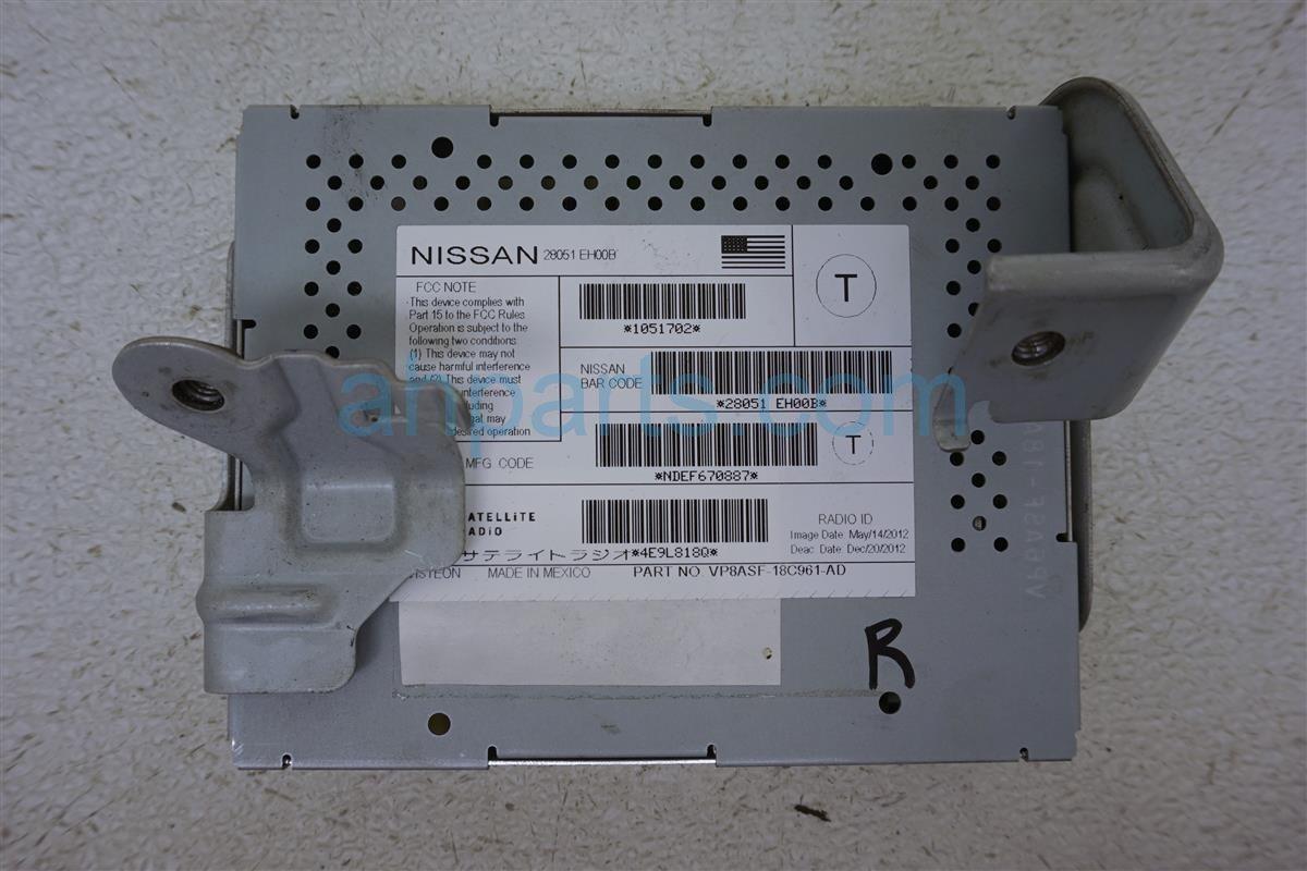 2013 Nissan Quest Radio Xm Reciver 28051 EH00B Replacement