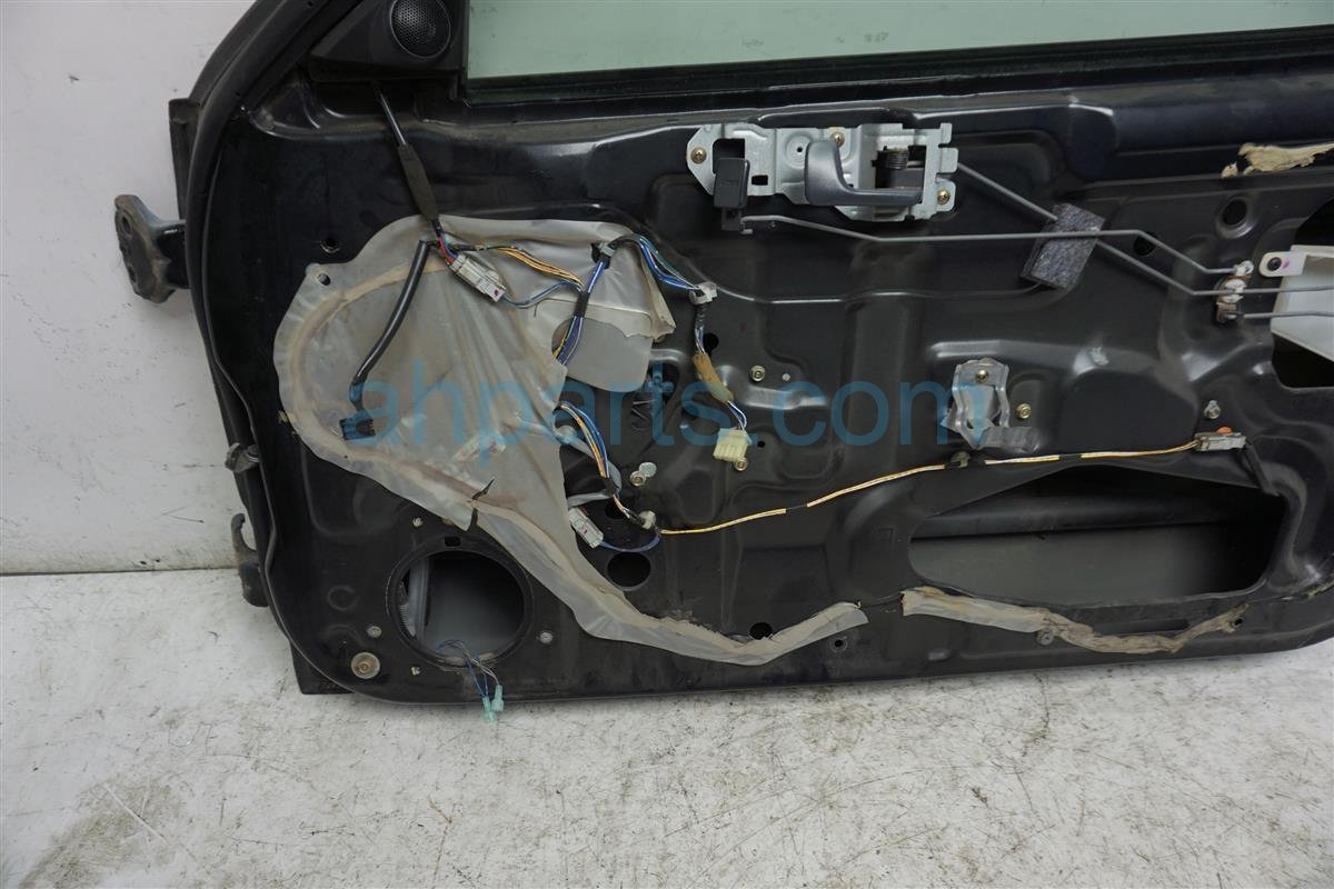 1999 Honda Civic Front Passenger Door   Shell Only Black Replacement