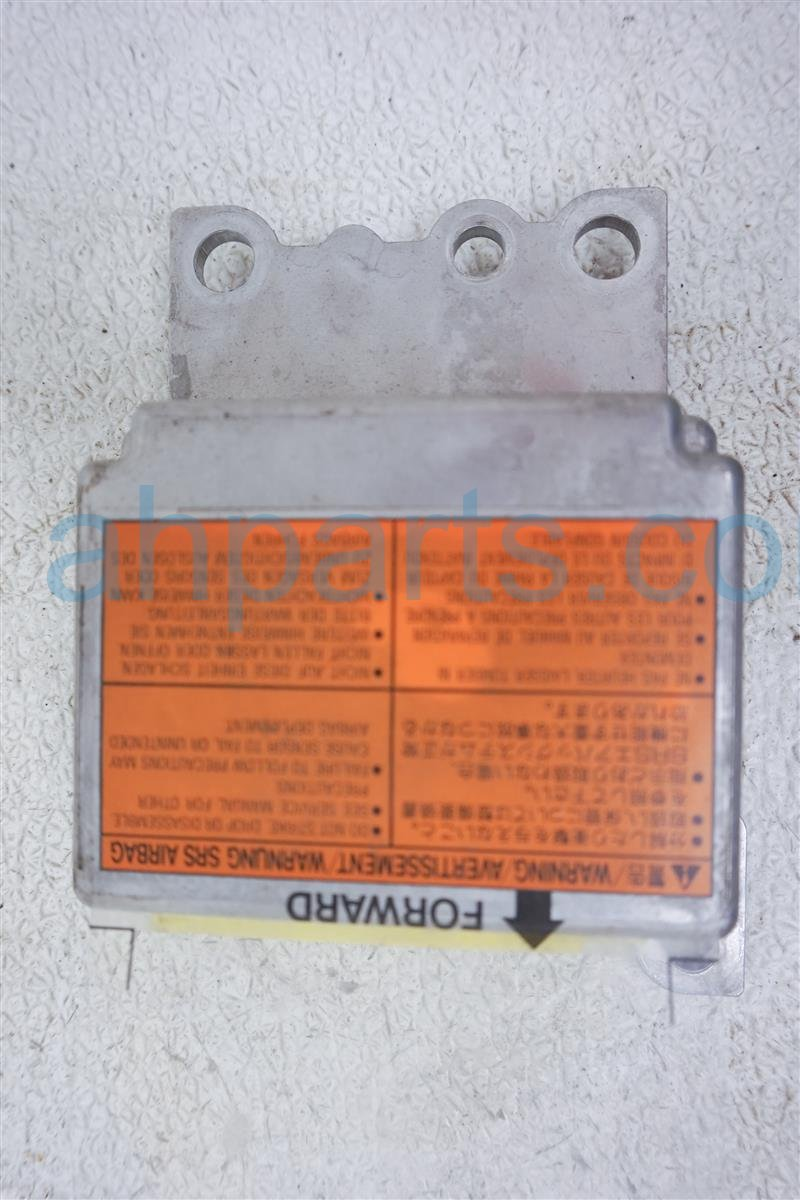 2001 Nissan Frontier Air Bag Module Needs Reset 28556 9Z725 Replacement