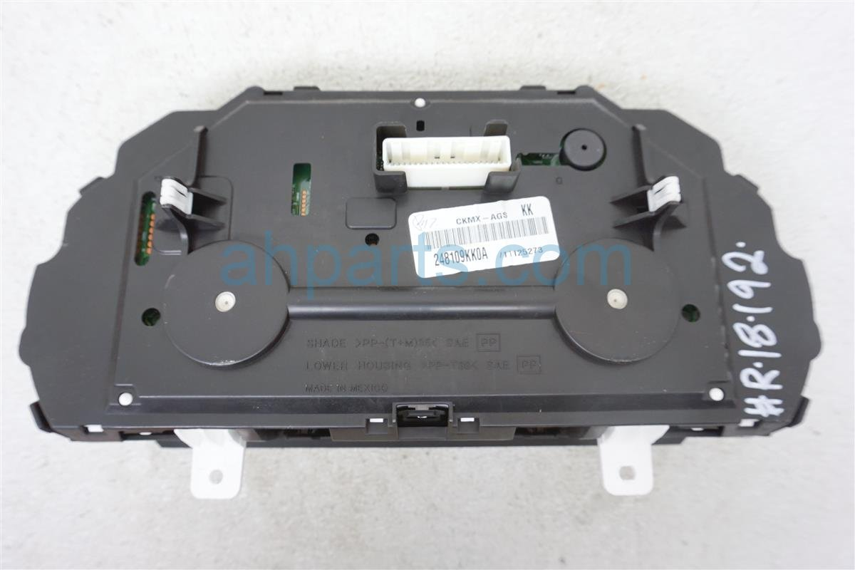 2016 Nissan Versa Gauge Speedometer Instrument Cluster 24810 9KK0A Replacement