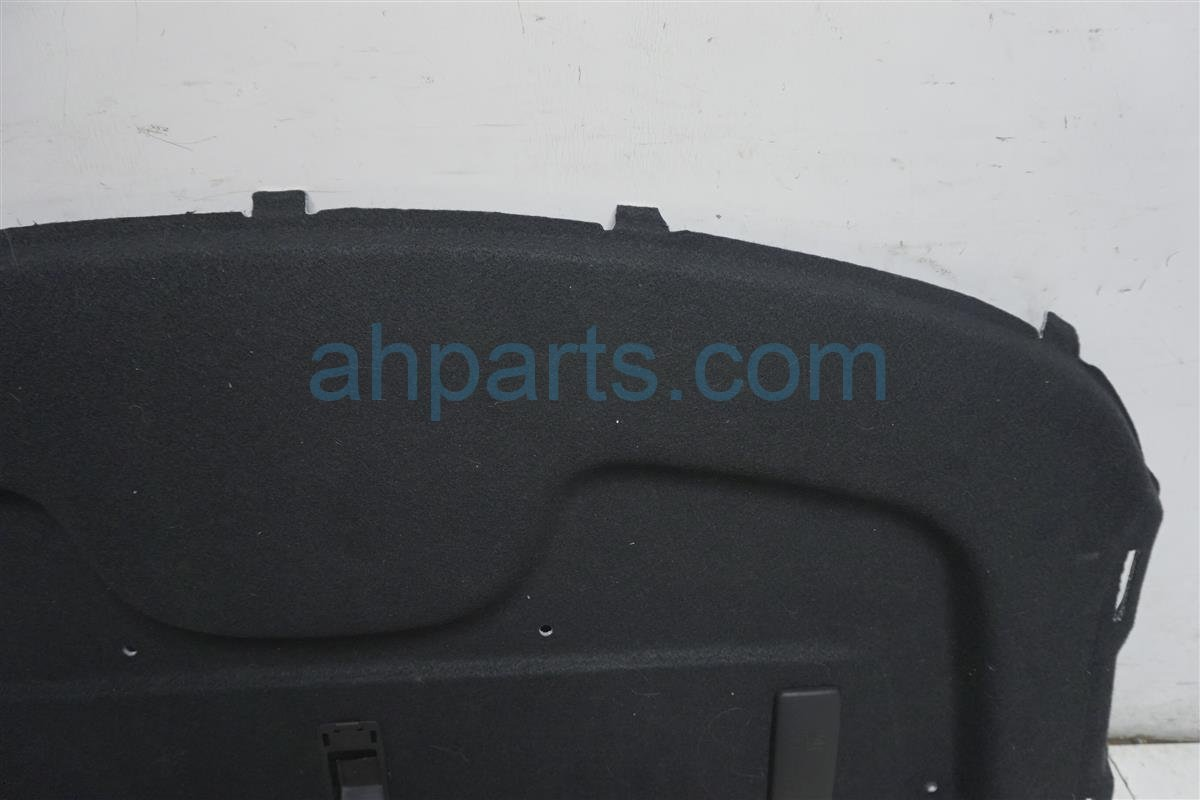 2016 Nissan Versa Rear Package Tray Liner   Black 79910 9KA0A Replacement