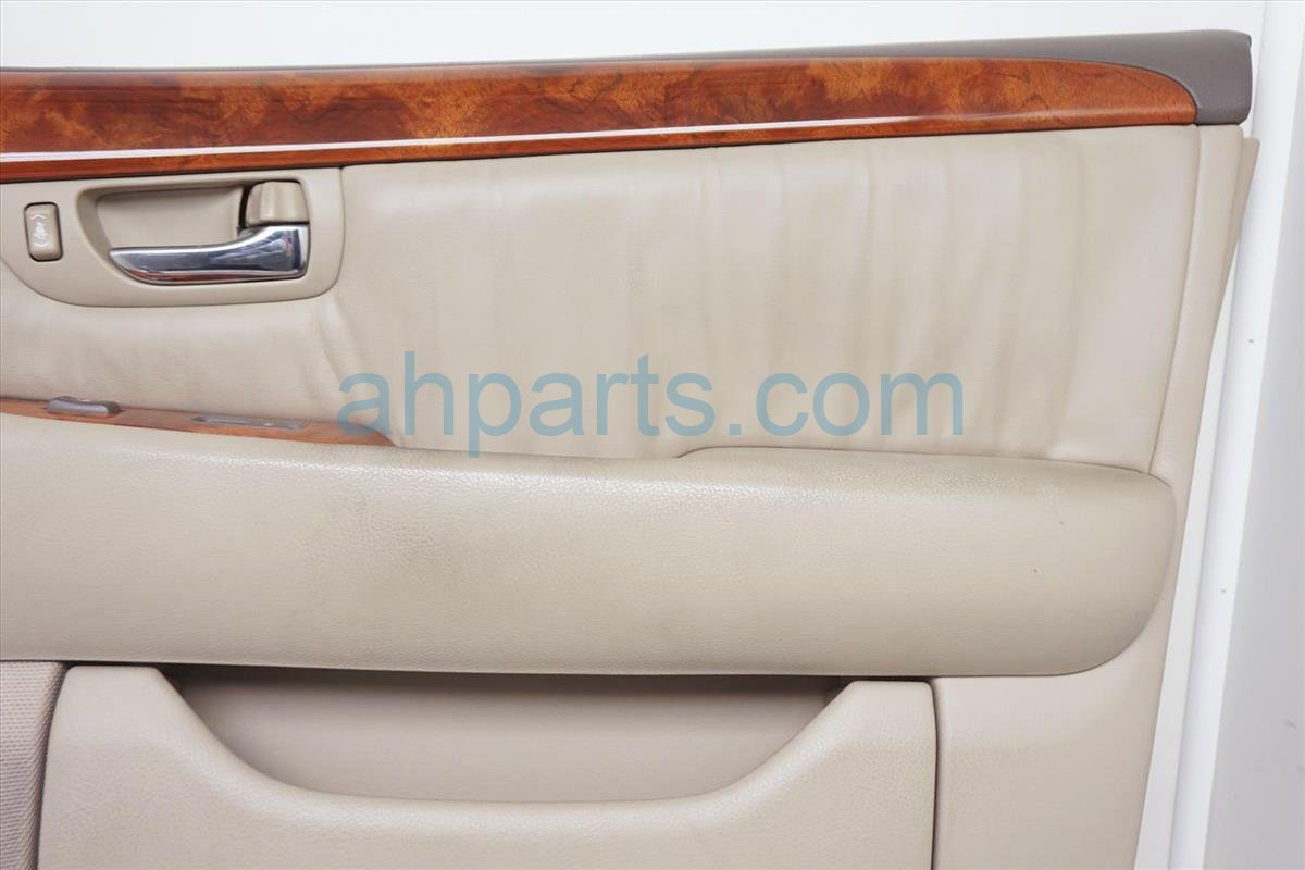 2001 Lexus Ls430 Front Passenger Door Panel (trim Liner) Tan 67610 50370 A5 Replacement