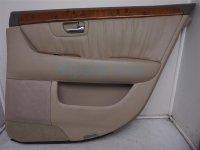 $90 Lexus RR/RH DOOR PANEL (TRIM LINER) TAN