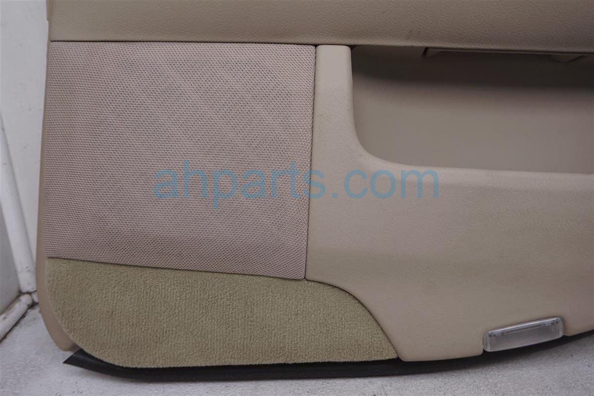 2001 Lexus Ls430 Rear Passenger Door Panel (trim Liner) Tan 67630 50530 A3 Replacement