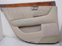 $90 Lexus RR/LH DOOR PANEL (TRIM LINER) TAN