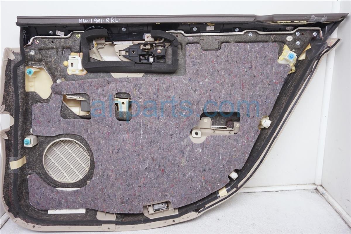 2001 Lexus Ls430 Rear Driver Door Panel (trim Liner) Tan 67640 50530 A3 Replacement
