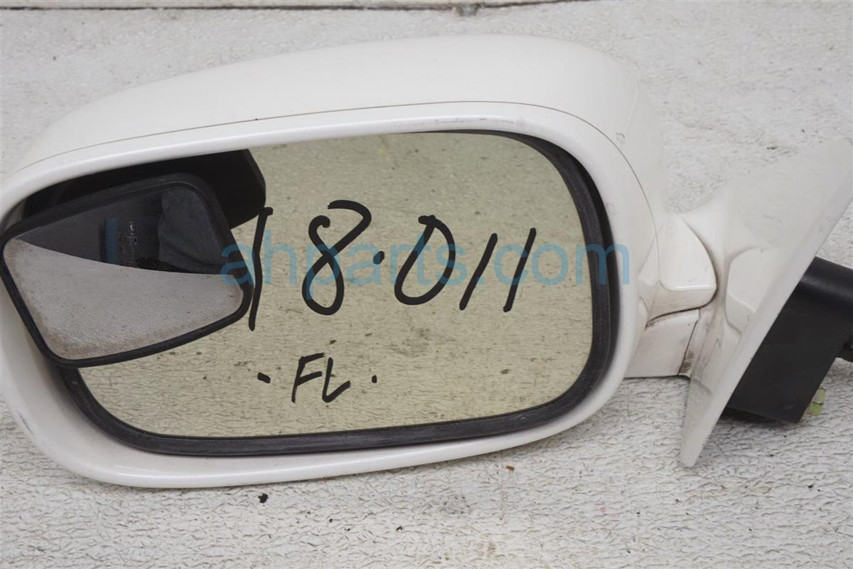 2001 Lexus Ls430 Driver Side Rear View Mirror White 87940 50432 A0 Replacement