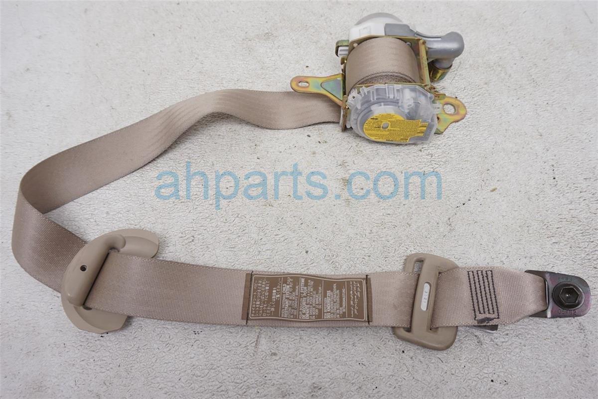 2001 Lexus Ls430 Front Passenger Seat Belt Tan 73210 50190 A0 Replacement